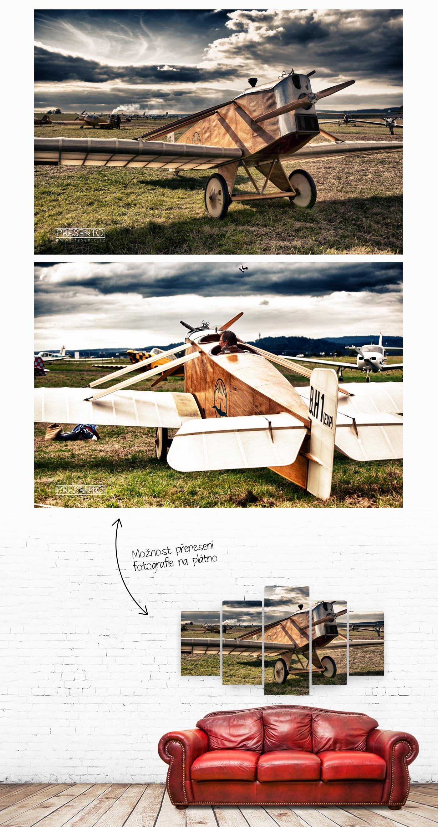 Petr Skovajsa - letadlo