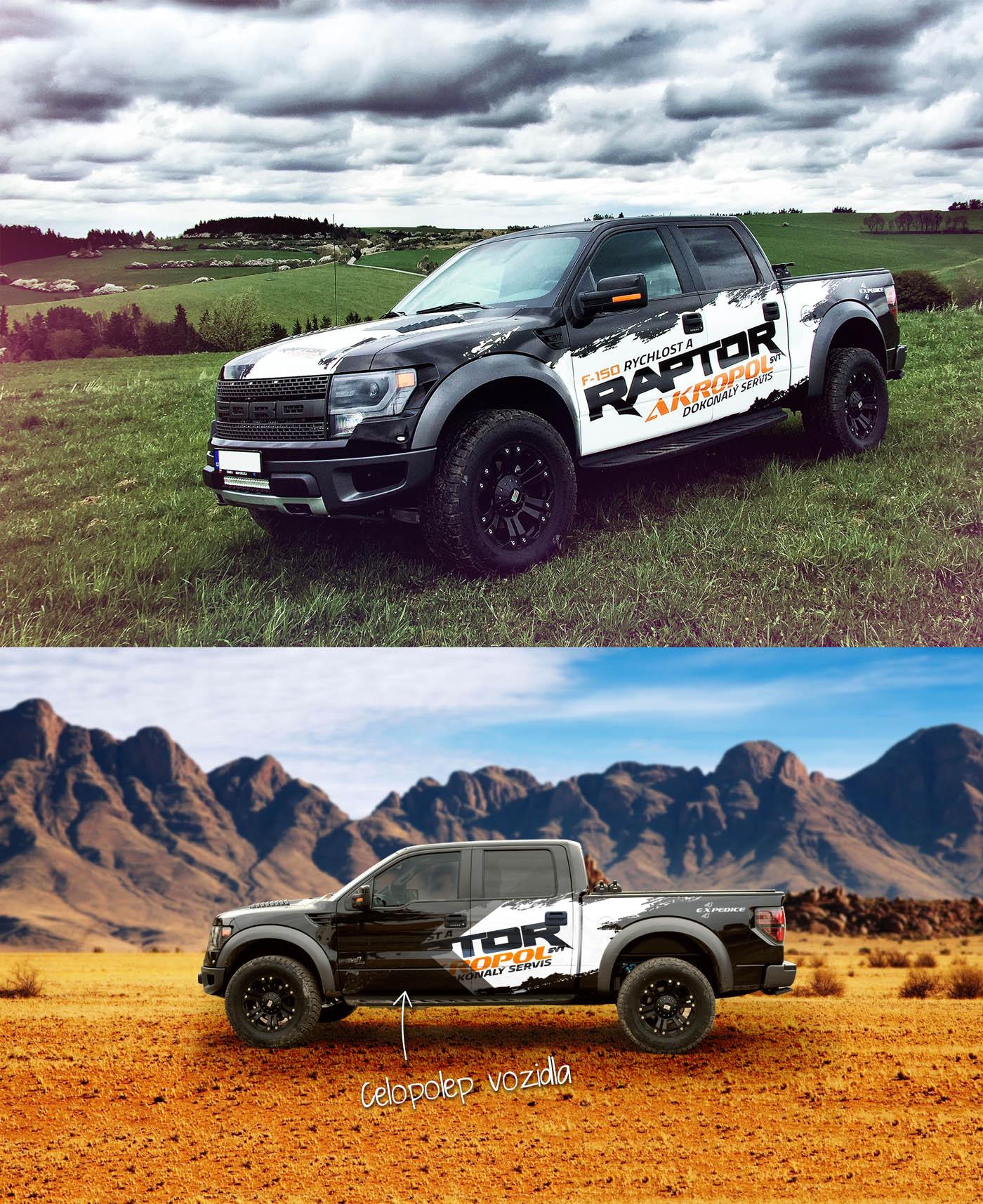 Ford raptor celopolep
